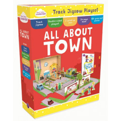 Start Little Learn Big All About Town Track Jigsaw Play Set