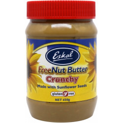 Eskal Freenut Butter Crunchy 450g ( 6 JARS - Carton )