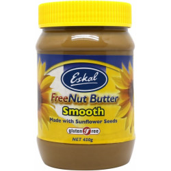Eskal Freenut Butter Smooth 450g ( 6 Jars - Carton )