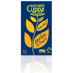 Nature's Cuppa Ceylon Loose Leaf Tea 125 g ( 6 Packets - BOX)
