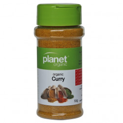 Planet Organic Curry 55 g - BPA Free Shaker