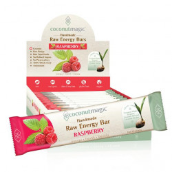 Coconut Magic Raspberry Raw Energy Bar 45 g ( 12 bars - Carton)