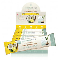 Coconut Magic Coconut Lemon Raw Energy Bar 45 g ( 12 Bars - Carton )