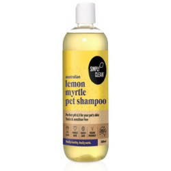 Simply Clean Lemon Myrtle Pet Shampoo 500 ml
