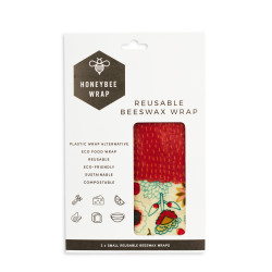 Honeybee Wrap Twin Pack Small 2 x (15 x 23.5 x 1cm)