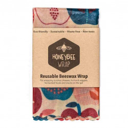 Honeybee Wrap Twin Pack Medium 2 x (15 x 23.5 x 1cm)
