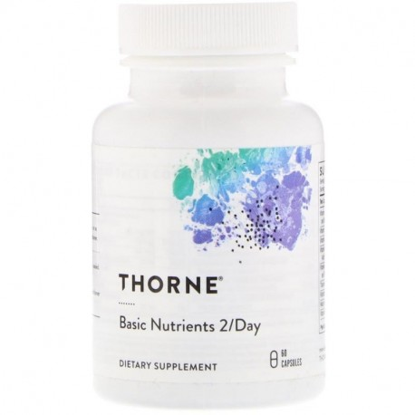 Thorne Research Basic Nutrients 2/Day 60 Capsules