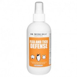Dr. Mercola Flea and Tick Defense For Dogs and Cats 8 oz (237 ml)