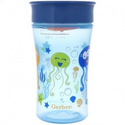 NUK Magic 360 Magical Spoutless Cup 12+ Months Boy 1 Cup 10 oz (300 ml)