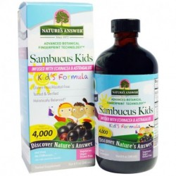 Nature's Answer Sambucus Kid's Formula 4000 mg 8 fl oz (240 ml))