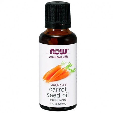 Now Foods Essential Oils Carrot Seed Oil 1 fl. oz. (30 ml)