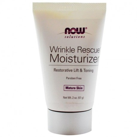 Now Foods Solutions Wrinkle Rescue Moisturizer 2 oz (57 g)