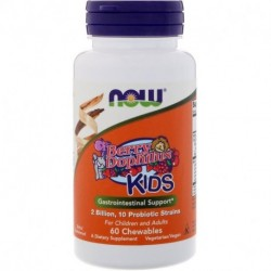 Now Foods Berry Dophilus Kids 2 Billion 60 Chewables