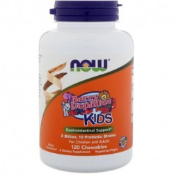 Now Foods Berry Dophilus Kids 2 Billion 120 Chewables