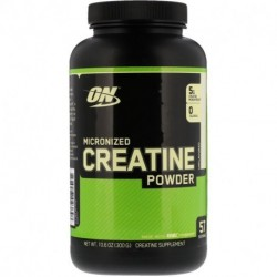 Optimum Nutrition Micronized Creatine Powder Unflavored 10.6 oz (300 g)