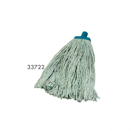Cotton Mop Heads Redback Commercial (Green) 400g