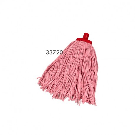 Cotton Mop Head Redback Commercial (Red) 400g