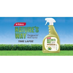 Yates Nature's Way Organic Weed Spray 750 ml Clove Oil Based - Trigger Spray Bottle
