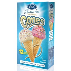 Eskal Gluten Free Ice Cream Cones 6 x 45gm