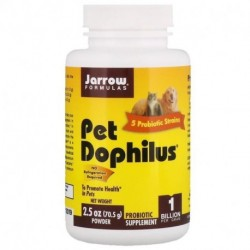Jarrow Formulas Pet Dophilus 1 Billion 2.5 oz (70.5 g) Powder