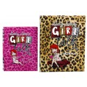 Girl Talk in the Pink - Top Tips for a Girls' Night Out by Kathy Lette & Journal - SET
