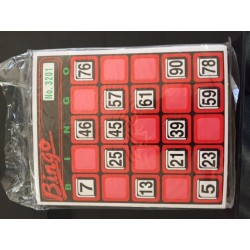 Bingo Replacement Cards - 30 pack