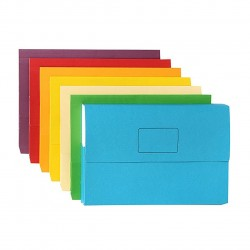 PAPERCLICK A4 Presentation Wallet 25's Multi-Coloured