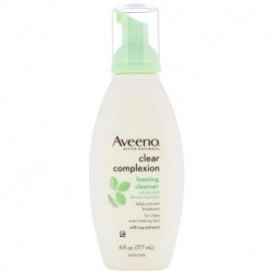 Aveeno Active Naturals Clear Complexion Foaming Cleanser 6 fl oz (177 ml)
