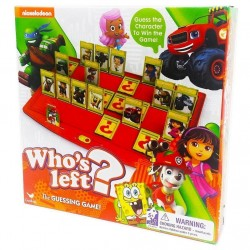 Nickelodeon Who's Left? the Guessing Game 5+ Years