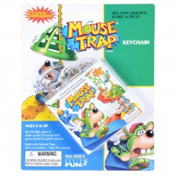 Key Chain Mouse Trap Game 6+ Years