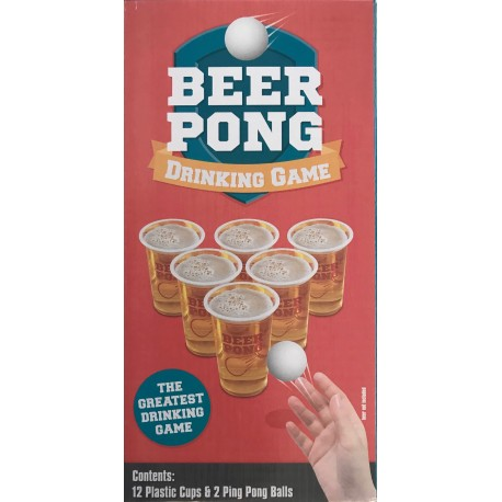 Beer Pong Party Game 18+ Years