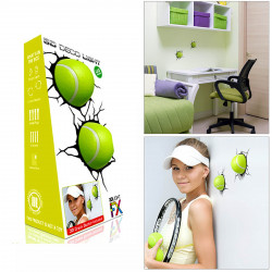 3D FX Deco LED Night Light Sport Tennis Ball