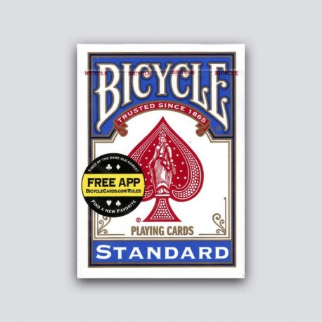 Bicycle Riderback poker, Playing Cards - Single Pack Only