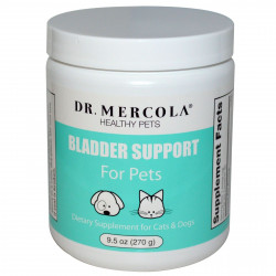 Dr. Mercola, Healthy Pets, Bladder Support For Cats & Dogs, 9.5 oz (270 g)