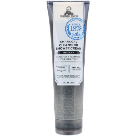Grandpa's Charcoal Cleansing Shower Cream Detoxify 9.5 fl oz (280 ml)