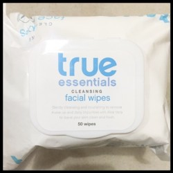 True Essentials Face Cleanser and Facial Wipes 30 Wipes