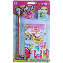 Shopkins 4 Pieces Stationary Set