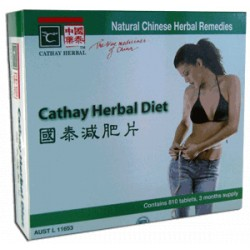 Cathay Herbal Diet 810 Tablets