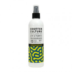COUNTER CULTURE Probiotic Air + Fabric Freshener LemonGRS 300mL ( Carton - 6 Bottles )