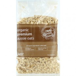 REAL GOOD FOOD Oats Rolled Premium Aussie Organic 1kg