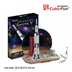 "Cubic Fun - 3D Puzzle: ""Saturn V"""