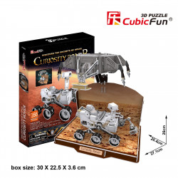 "Cubic Fun - 3D Puzzle: ""Curiosity Rover"" 166 Pieces"