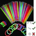 Party Glow Sticks with Connectors - 20 Pack