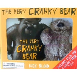 The Very Cranky Bear Nick Bland Book + Soft Toy Plush Gift Boxed Set