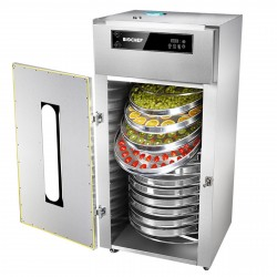 BioChef Commercial Rotating 15 Tray Food Dehydrator