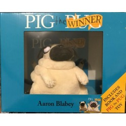 Pig the Winner by Aaron Blabey - Includes Book & PIG the PUG TOY