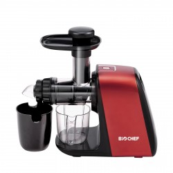 BioChef Axis Compact Cold Press Juicer - Red