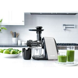 BioChef Axis Compact Cold Press Juicer - Silver