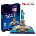 """Cubic Fun - 3D Puzzle: """"Statue of Liberty"""""""