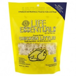 Cat-Man-Doo Life Essentials Freeze Dried Chicken Littles For Cats & Dogs 5 oz (142 g)